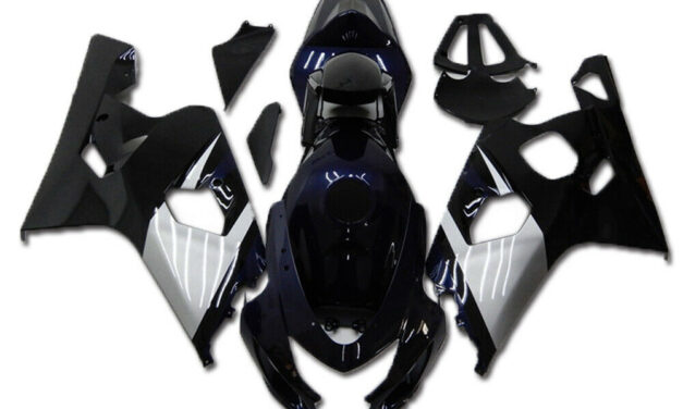 Injection Mold Blue ABS Fairing Fit for Suzuki 2004 2005 GSXR 600 750 a002