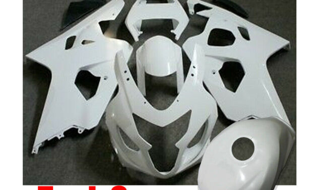 ABS Injection Mold Fairing Kit + Tank Cover for 2004 2005 Suzuki GSXR 600 750 K4