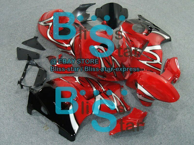 Red GSXR1300 Fairing With Tank Seat Fit  GSX-R1300 04 05 06 97-07 150 A5