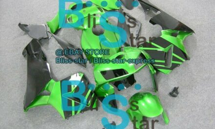Green Glossy INJECTION Fairing For HONDA CBR600RR 2005-2006 56 A5