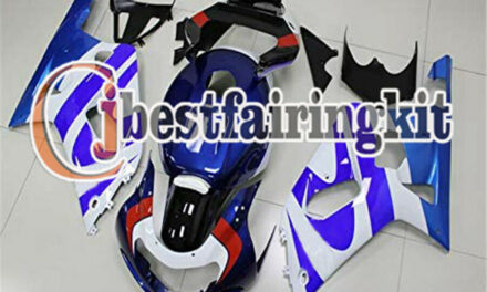 Fit for 2001-2003 GSX-R 600 750 K1 White Blue Complete Injection Fairing a#23