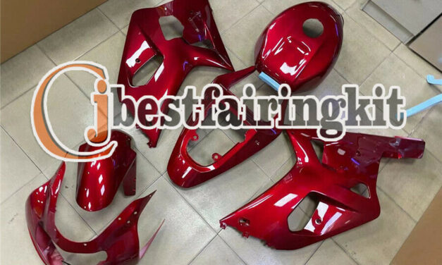 Fit for 2001-2003 GSX-R 600 750 K1 Pearl red Complete Injection ABS Fairing a#24