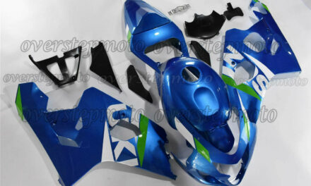 Injection ABS Plastic Fairing Kit Fit for 2004-2005 GSX-R 600 750 K4 Blue aBN