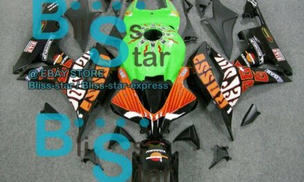 Decals Glossy INJECTION Fairing Bodywork Kit Fit  CBR600RR 2007-2008 11 B7