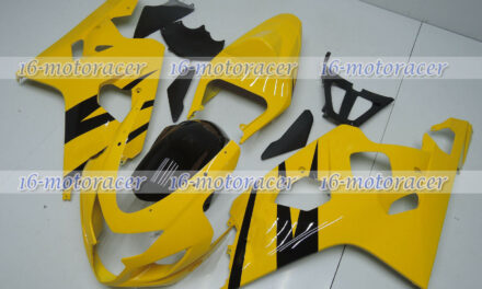 Fairing Kit Fit for 04-05 GSX-R 600 750 Yellow Black ABS Injection Bodywork q#28