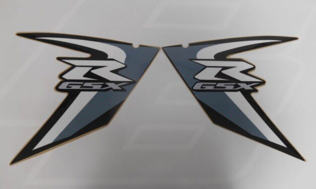 2007 2008 Suzuki GSXR 7501000600 Fairing Decals GSX-R 750 Graphics New Thick Quality Made in U.S.A. Quick Shipping! Sticker Labels