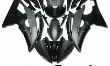 Fairing Injection Plastic Body Kit Fit For YAMAHA YZF-R6 2008-2016 Grey Black WX