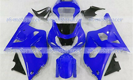 Fairing Plastic Fit for 2001 2002 2003 GSX-R 600/750 K1 Blue Injection Mold n#43