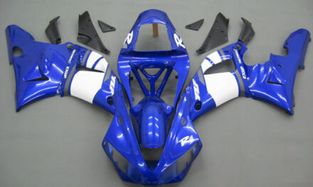 ABS Injection Plastic Kit Fairing Fit For Yamaha YZF R1 2000-2001 Blue YU