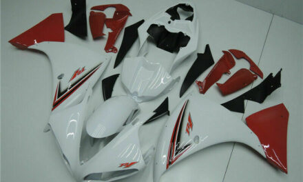 Red White Injection Plastic ABS Fairing Fit for Yamaha YZF R1 2009-2011 YU