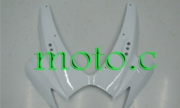 New Pearl White Front Upper Fairing Cowl Nose Fit for GSX-R 600 750 06-07 K6 aAi