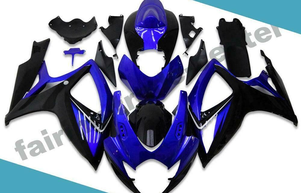 FTC Injection Mold Blue Fairing Fit for Suzuki 2006 2007 GSXR 600 750 d001