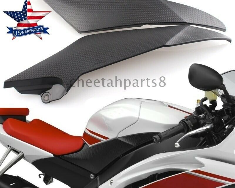 Cowl Fairing Gas Tank Side Cover Panel Trim Fits For Yamaha YZF R6 2008-2015 USA