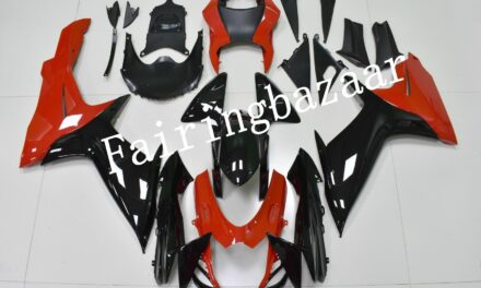 Fit for 2011-2019 GSXR600 GSXR750 Red Black ABS Injection Plastic Fairing Kit