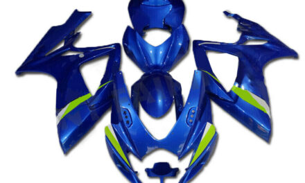 FK Injection Molded Blue ABS Fairing Kit for 2006 2007 GSXR 600/750 a007