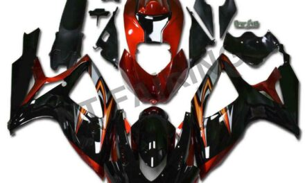 Injection Red Black Fairing Kit Fit for Suzuki 2006 2007 GSXR 600 750 a0110