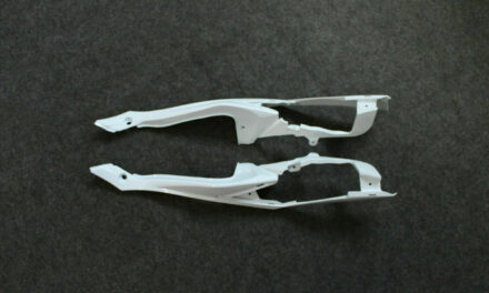 ABS Left & Right Side Long Tail Fairing For Suzuki GSXR600/750 K8 2008-2010 2009