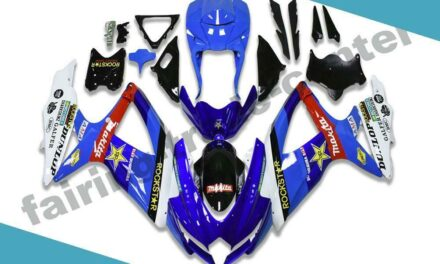 FTC Fairings Fit for GSXR 600 750 SUZUKI 2008-2010 Injection Molding Blue a073
