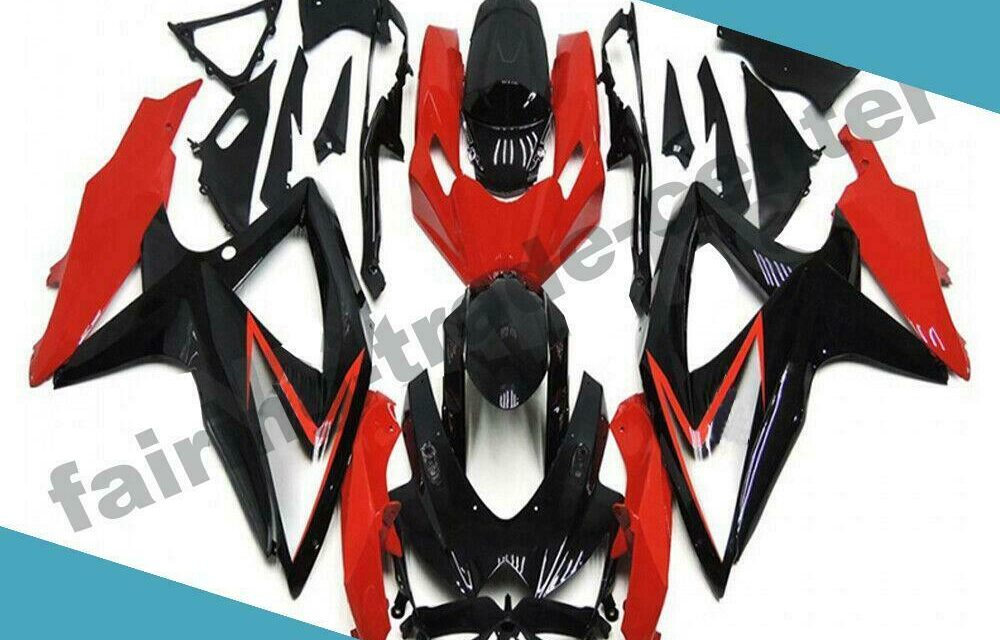FTC Injection Mold Red ABS Fairing Fit for Suzuki 2008-2010 GSXR 600 750 a080