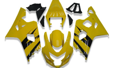 GL Injection Mold Yellow Plastic Fairing Fit for Suzuki 04 05 GSXR 600 750 o072