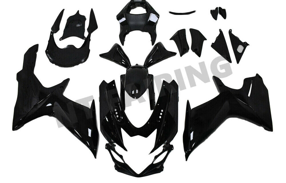 GL Fairing Glossy Black Fit for SUZUKI 2011-20 GSXR 600/750 Injection Mold a059