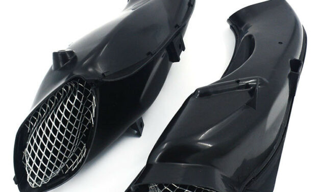 Motorcycle Ram Air Intake Tube Duct Cover For GSXR600/750 04-05 Street