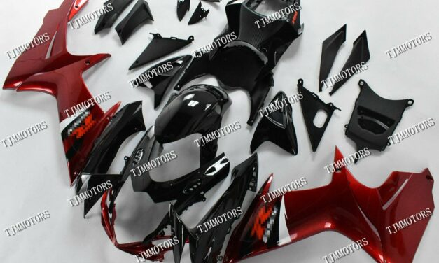 For GSXR600/750 2011-2019 Metallic Red ABS Injection Mold Bodywork Fairing Kit