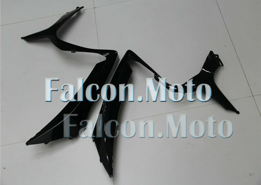 Left Right Mid Side Fairing Fit for 06-07 GSX-R 600/750 K6 Glossy Black New aAF