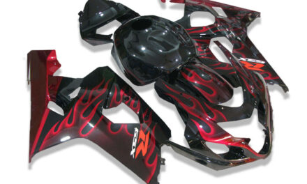 FTC Black Red Injection Fairing Kits Fit for Suzuki 2004-2005 GSXR 600 750 o017