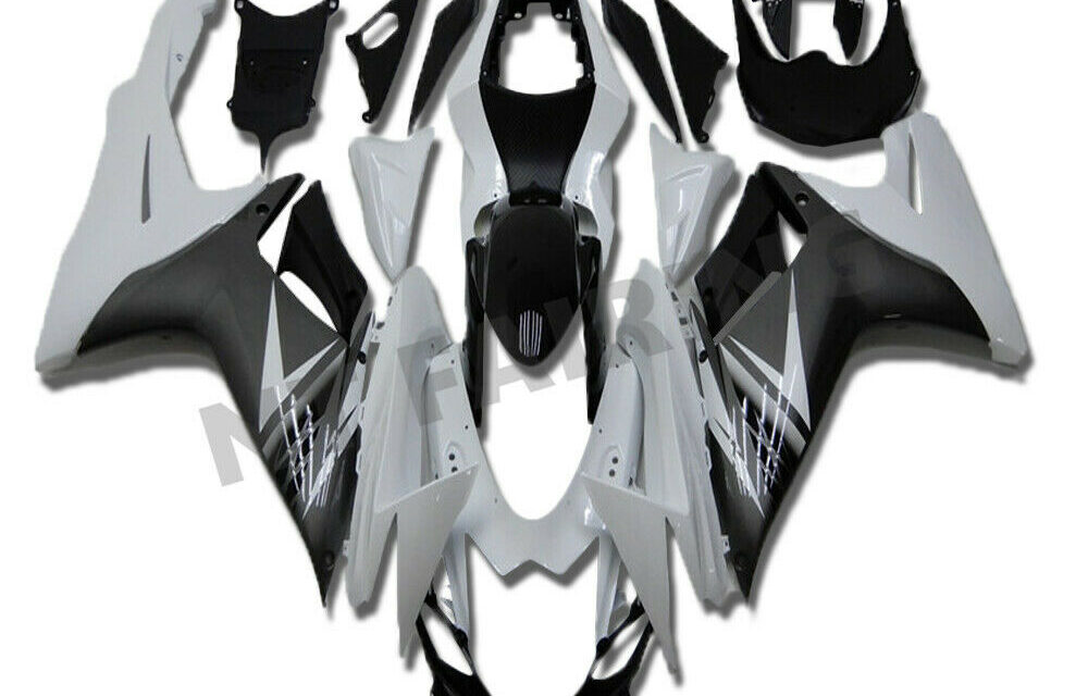 FTC Fairing Fit for SUZUKI 2011-20 GSXR 600/750 Injection Mold Grey White a007