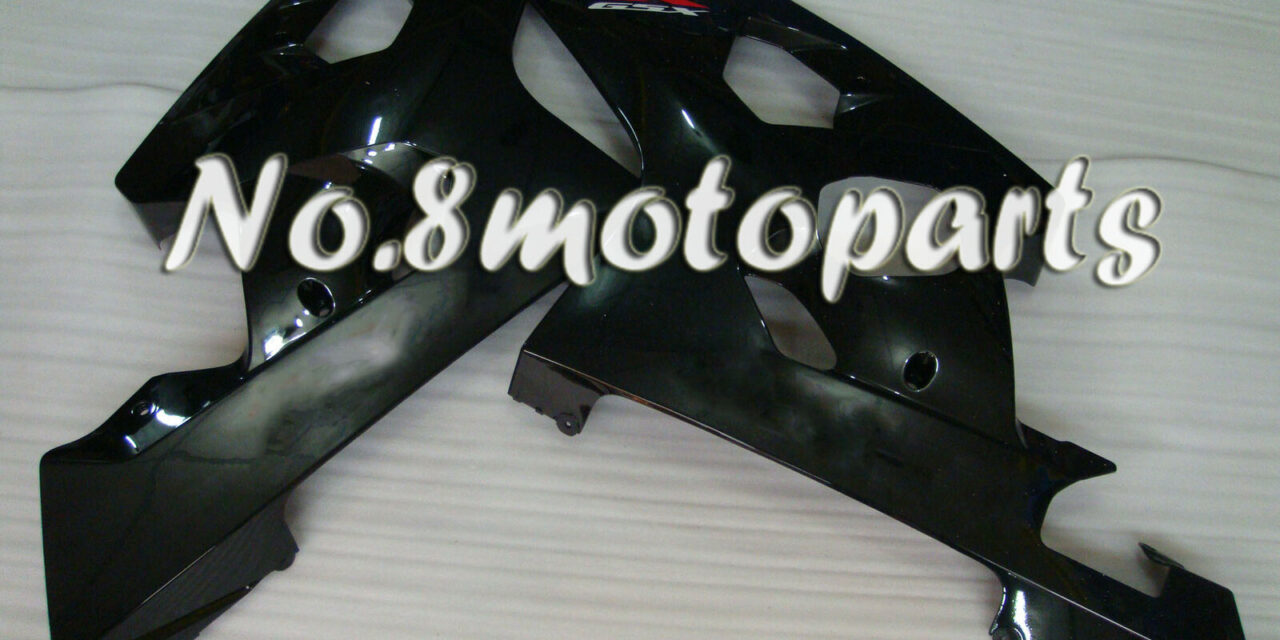 Gloss Black Injection Left Right Side Fairings Fit for 04-05 GSXR 600 750 K4 a33