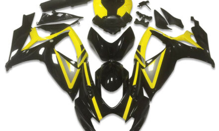FK Injection Yellow Black ABS Fairing Fit for Suzuki 2006 2007 GSXR 600 750 a038