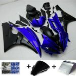 Fairing Injection Plastic Body Kit Fit For YAMAHA YZF-R6 2006 2007 Blue Black F1