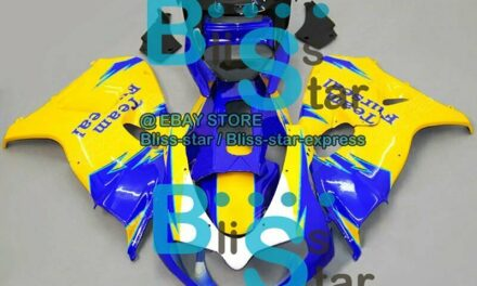 Yellow Blue INJECTION Fairing Kit Set Fit  TL1000R 1998-2003 15 A5