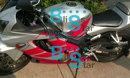 Red INJECTION Fairing + Tank Cover Fit HONDA CBR600F4i 2002 2001-2003 44 A1