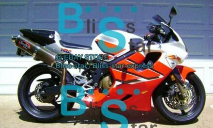 Red INJECTION Fairing + Tank Cover Fit HONDA CBR600F4i 2002 2001-2003 40 A7