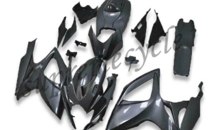 SC Injection Mold Grey Fairing Kit Fit for Suzuki 2006 2007 GSXR 600 750 a0119