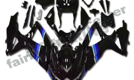 FTC Fairing Fit for GSXR 600 750 SUZUKI 2008-2010 Injection Molding Black a074