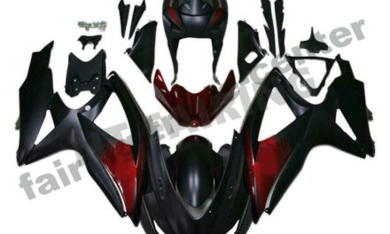 FTC Fairing Fit for GSXR 600 750 SUZUKI 2008-2010 Injection Mold Red Black o069