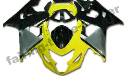 FTC Injection Yellow Black Fairing Set Fit for Suzuki 2004 2005 GSXR600 750 o061