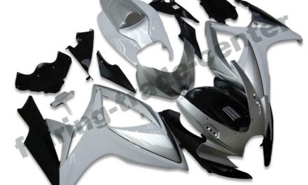FTC Injection Kit Silver Fairing Fit for Suzuki 2006 2007 GSXR 600 750 a039