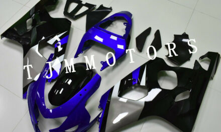 For GSXR600/750 2004-2005 ABS Injection Mold Bodywork Fairing Kit Cowl Blue Grey