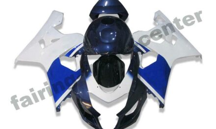 FTC White Blue Injection Fairing Kits Fit for Suzuki 2004-2005 GSXR 600 750 o018