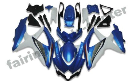 FTC Injection Fairing New Blue Fit for Suzuki 2008-2010 GSXR600/750R a063