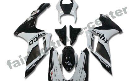 FTC Injection Fairing Mold Black White Fit for Suzuki 2011-2020 GSXR600/750 a020