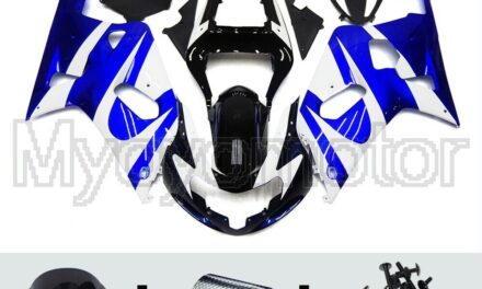 Motorcycle ABS Fairings Fit for Suzuki GSXR600 750 2000 2001 02 2003 Blue Kit
