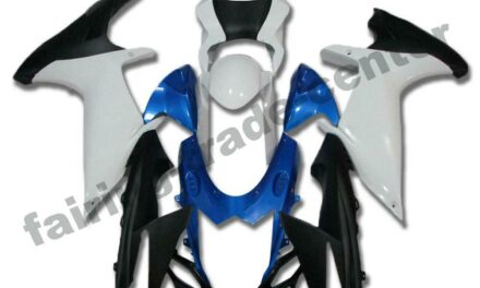 FTC Injection Fairing New Blue White Fit for Suzuki 2011-2020 GSXR600/750 a027