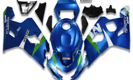 FK Injection ABS Blue Fairing Kit Fit for Suzuki 2004 2005 GSXR 600 750 a093