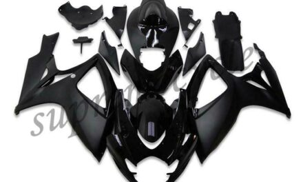 SC Injection Mold Black Fairing Kit Fit for Suzuki 2006 2007 GSXR 600 750 a004
