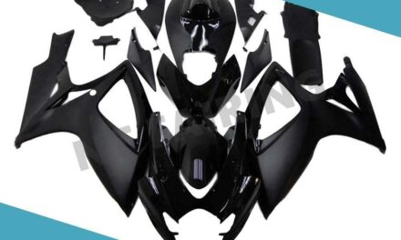 FTC Injection Mold Black Fairing Kit Fit for Suzuki 2006 2007 GSXR 600 750 a004